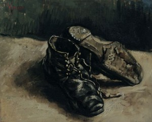 Vincent-van-Gogh peasant shoe
